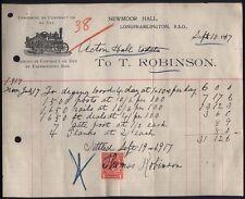 1907 STEAM TRACTION ENGINE, Robinsons of NEWMOOR HALL, Longframlington RSO
