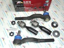95-04 Toyota Tacoma Pickup 4WD NEW 4 Tie Rod Ends Inner & Outer ES3545 & ES3546