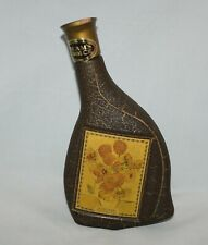 Vintage Jim Beam's Choice Sunflowers Van Gogh Whiskey Bottle Collectors Vol IV