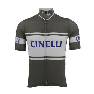 CINELLI Cycling Jersey men team cycling Short Sleeve jersey