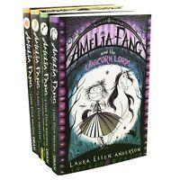 Amelia Fang 4 Books Children Collection Paperback By - Laura Ellen Anderson