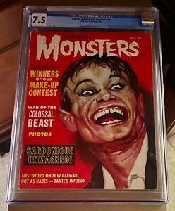 Famous Monsters of Filmland Magazine #18 July 1962 CGC Graded 7.5
