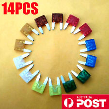 14PCS Spare Fuses Kit FOR TOYOTA Audi A3 A4 A4L Ford BA BF FG Forte Territory SZ
