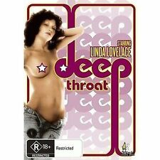 Deep Throat (DVD) Adult Cult Linda Lovelace [All Regions] NEW/SEALED