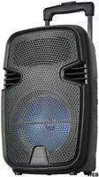 "Lautsprecher Akustik Tragbar Trolley 8 "" Batterie Licht LED Bluetooth / SD/USB /"