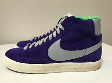 Nike Blazer Mid Premium Vintage Suede Misura UK 4 EUR 36.5 Viola 538282 500