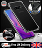 Samsung Galaxy S10 Case Shock Proof Crystal Clear Soft Silicone TPU Gel Cover