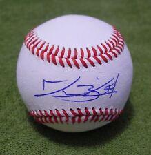JESSE BIDDLE Signed/Autographed BASEBALL BALL Atlanta Braves w/COA