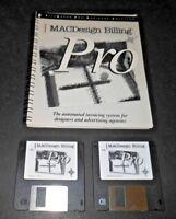 RARE Apple Mac Design Billing Pro Invoicing System Computer Software Filemaker
