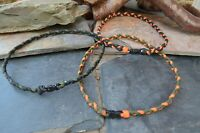 3 Braid Paracord Survival Necklaces With Break Away Clasps EDC Hiking Camping
