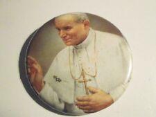 """Pope John Paul ll pinback  2 1/2"""" New"""