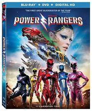 Saban's Power Rangers (Blu-ray/DVD, 2017, 2-Disc Set) no digital copy