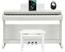 Yamaha Arius YDP-144 WH E-Piano 88 Tasten Set Digitalpiano Bank Kopfhörer Weiß