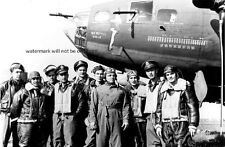 """Memphis Belle B-17 Flying Fortress Bomber Crew 13""""x 19"""" WWII Photo Poster 600"""