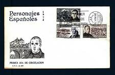 SPAIN - SPAGNA - 1974 - Celebrità spagnole - (A)