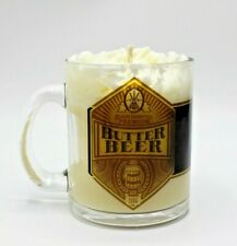 New Butterbeer Candle with Reusable Mug Witchy Home Decor