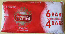 6 X 100g Bars of Imperial Leather Original Rich Creamy Ivory Soap
