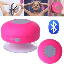 Wireless Bluetooth Speaker Hands free Waterproof  Shower Car US seller pink