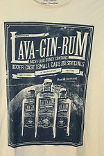 Lava-Gin-Rum Yellow T-Shirt by DNMX Jeans Co. Liquor Adult 2XL