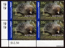 2006 Short Beaked Echidna Value Block 2nd Reprint MUH Mint Stamps Australia #3