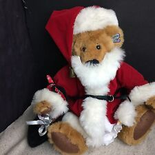 """Annette Funicello Collectible,Christmas Bear collections,14 """"plush,fully jointed"""