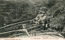 MAZAMET Route des Usines Sabatié Soldat 153 è Régiment écrit à Pont de Pany