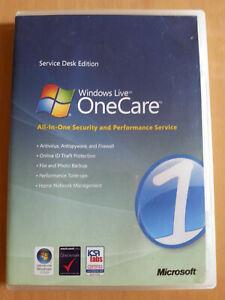 Windows Live OneCare (2007, Service Desk Edition)