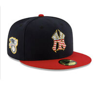 New Era 59Fifty Fitted Official MLB New York Yankees 4TH OF JULY Hat Size 7 3/8.