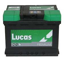 VW CADDY CAR BATTERY 1.7 SDI, 1.9 D, 1.9 SDI 1.9 TDI Diesel 95-04 Van Lucas  027