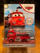 Disney Pixar Cars Red the Fire Engine Deluxe Vehicle