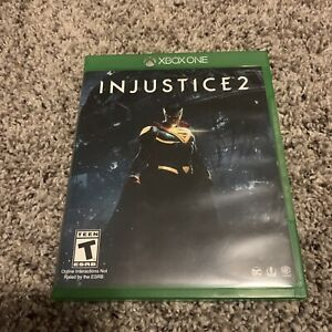 Injustice 2 Case Only Original Replacement Xbox One