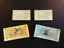 24 Cards & Play Money Original Parts Shrek Operation Game Donkey