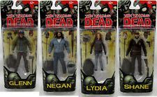 McFarlane The Walking Dead Comic Series 5 Set of 4 - Negan, Lydia, Glenn, Shane
