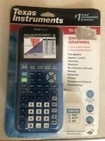 Texas Instruments TI-84 Plus CE Graphing Calculator Bionic Blue NEW SEALED