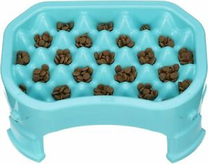 Neater Pet Brands – Neater Raised Slow Feeder – Elevated Adjustable Dog Bowl