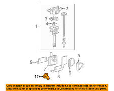 GM OEM-Engine Crankshaft Crank Position Sensor CPS 12596851