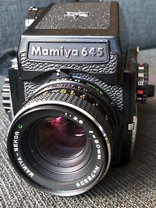 Mamiya 645, 2 Sucher, 3 Objektive, 2 Filmkasetten, und und und