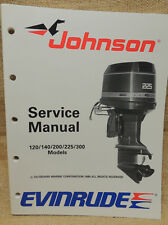 1989 Johnson Seahorse Evinrude Service Repair Manual 120 125 140 185 200 225 300