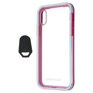 LifeProof Slam Series Case for Apple iPhone X (Only) - Aloha Sunset (Blue/Pink)