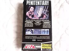 PENITENTIARY VHS WIZARD VIDEO LEON ISAAC KENNEDY PRISON BOXING BLAXPLOITATION