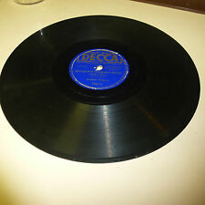 PRE WAR BLUES 78RPM RECORD - JOHNNY TEMPLE - DECCA 7564