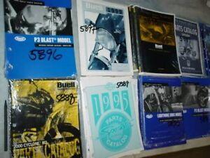 EP5899 NEW Harley Police 1998 catalog parts book manual