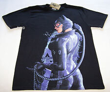 Batman Arkham Cat Woman Mens Black T Shirt Size S New