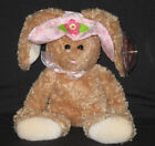 TY SUNBONNET the BUNNY BEANIE BABY - MINT with MINT TAG
