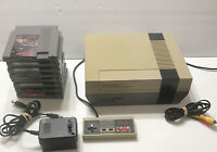 Refurbished Original NES Nintendo System + 8 Games COMPLETE READY TO PLAY