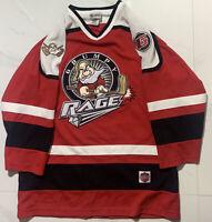 Walt Disney World Hockey Grumpy Rage #37 Red Jersey Size M / Medium