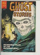 GHOST STORIES #35 FN    FINE WHITE PAGES BRONZE AGE DELL COMICS 1973