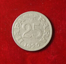 Münze Coin Jugoslawien Jugoslavija 25 Para 0,25 Dinar Dinara 1920 (G3)
