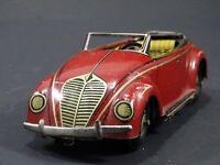 Vintage CKO Kellerman VW Beetle US Zone Germany Tin Litho Friction Car WWII Toy
