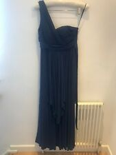 COAST. Long Off the Shoulder Blue Evening Dress Size 12